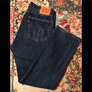 Levi's style 505 jeans size 34 x 32